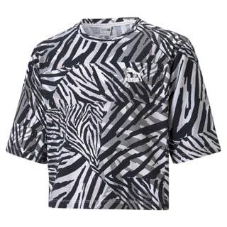 Изображение Puma Детская футболка Classics Safari Printed Youth Tee