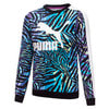 Изображение Puma Детская толстовка Classics T7 Crew Neck Printed Youth Sweatshirt #1