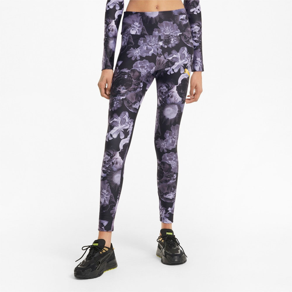Imagen PUMA Leggings con estampado gráfico para mujer Evide #1