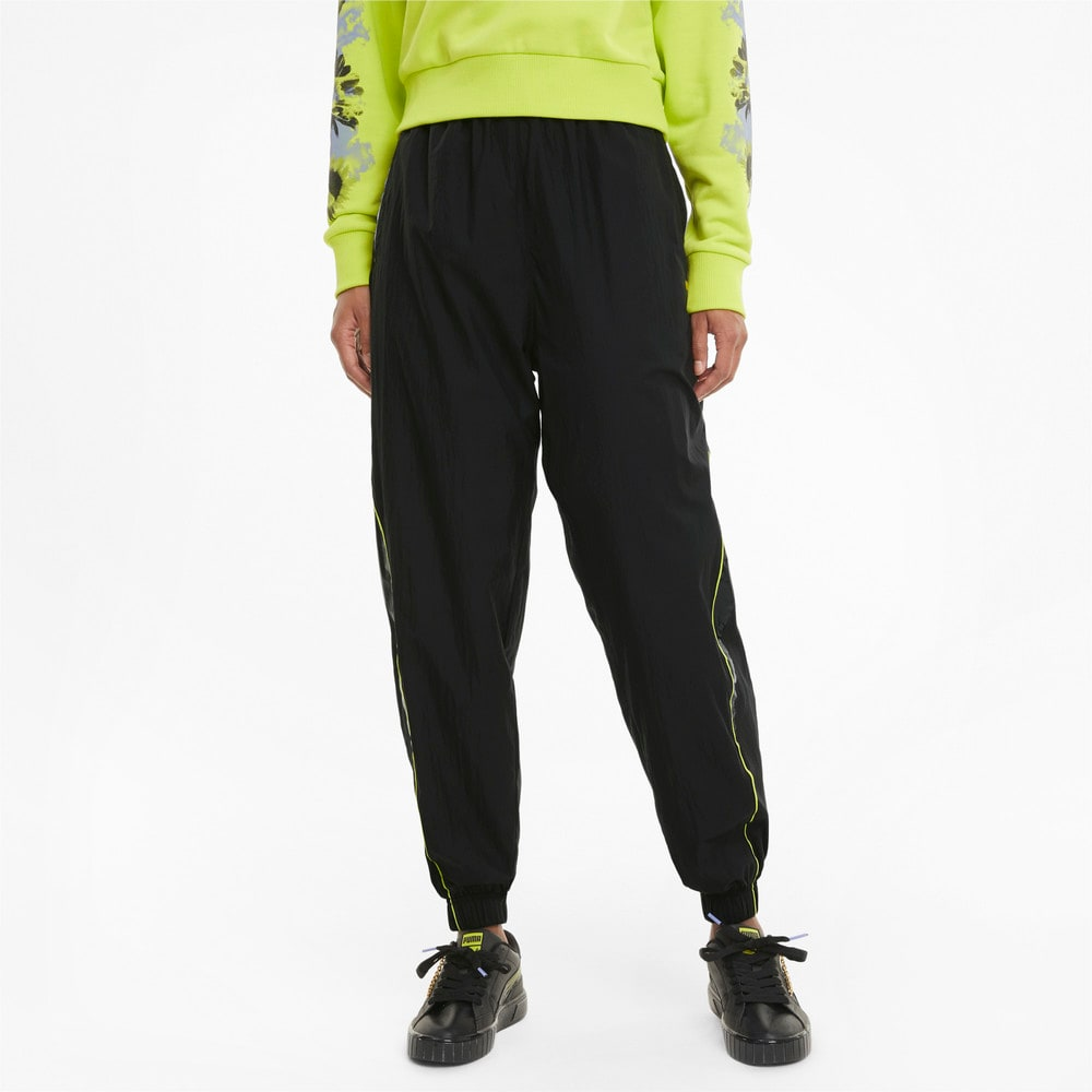 Изображение Puma Штаны Evide Woven Women's Track Pants #1