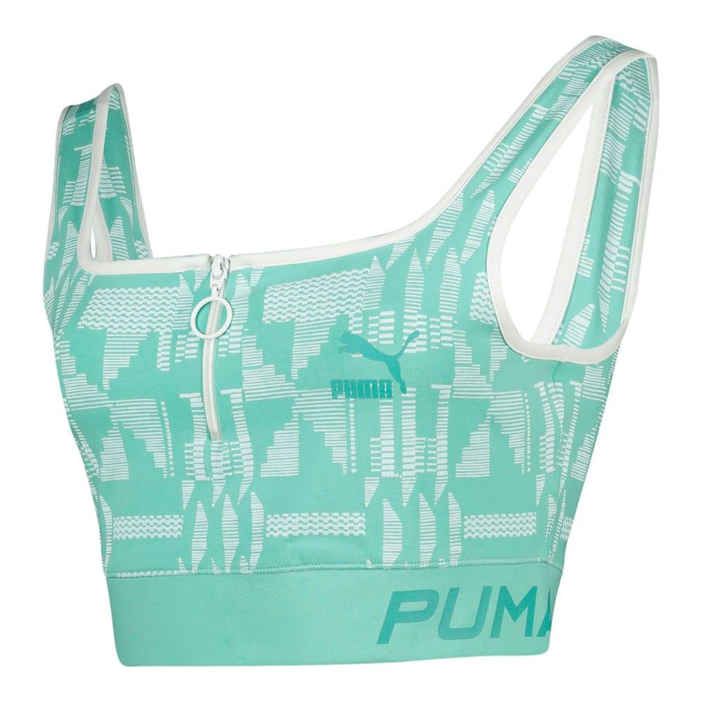 Image Puma PUMA x NOMZAMO AOP Bra Top #1
