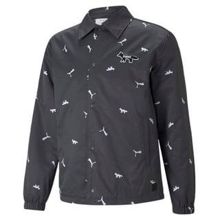 Изображение Puma Куртка PUMA x MAISON KITSUNÉ Printed Coach Jacket