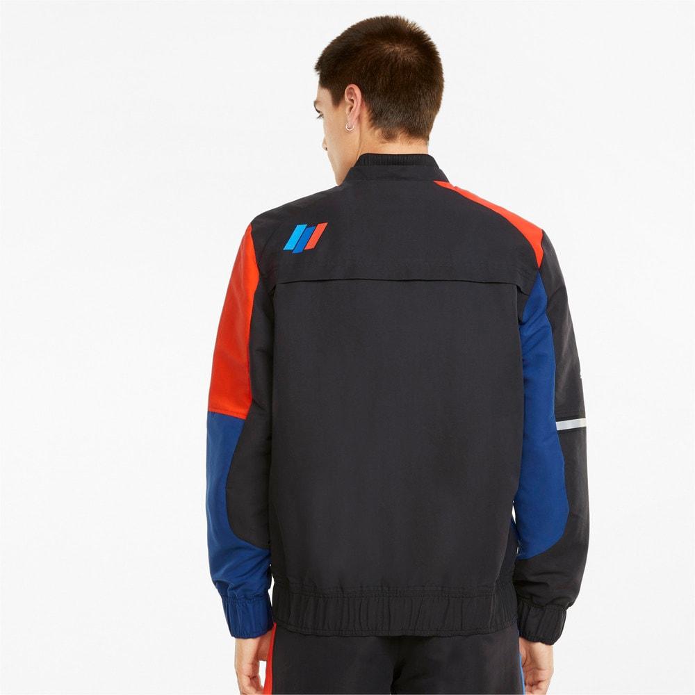 Зображення Puma Куртка BMW M Motorsport Street Men's Motorsport Jacket #2: Marina-Blueprint-High Risk Red