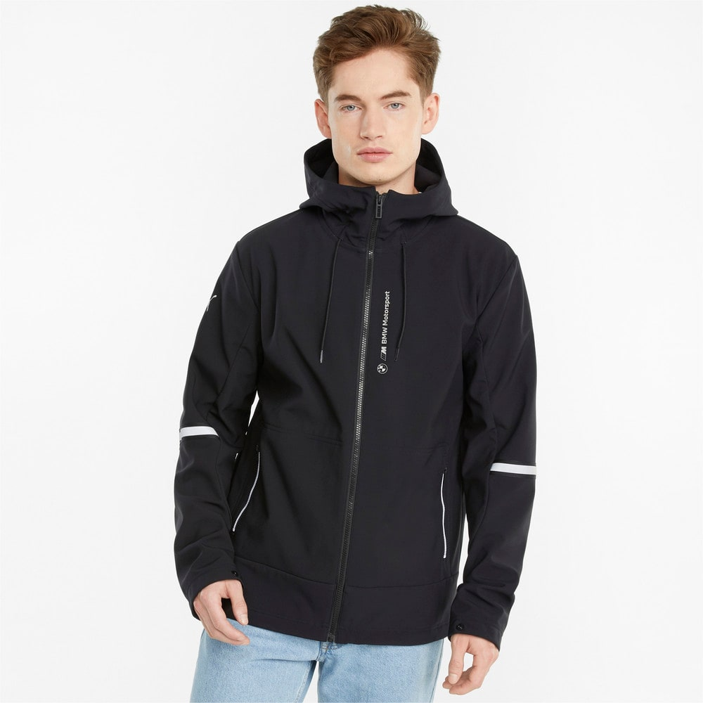 Зображення Puma Куртка BMW M Motorsport Men's Softshell Jacket #1: Puma Black