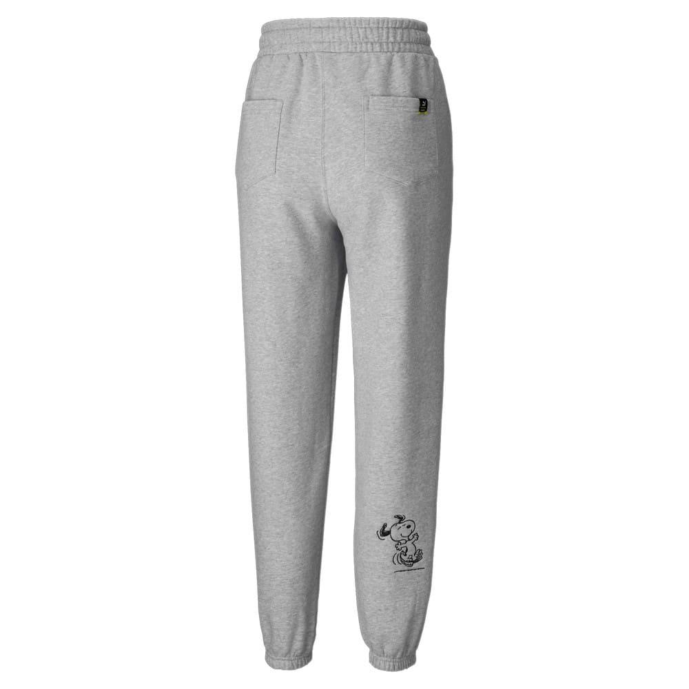 Зображення Puma Штани PUMA x PEANUTS Women's Sweatpants #2: light gray heather