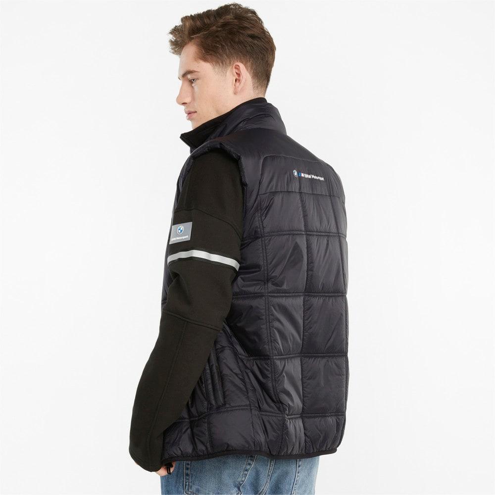 Изображение Puma Жилет BMW M Motorsport Padded Men's Vest #2: Puma Black