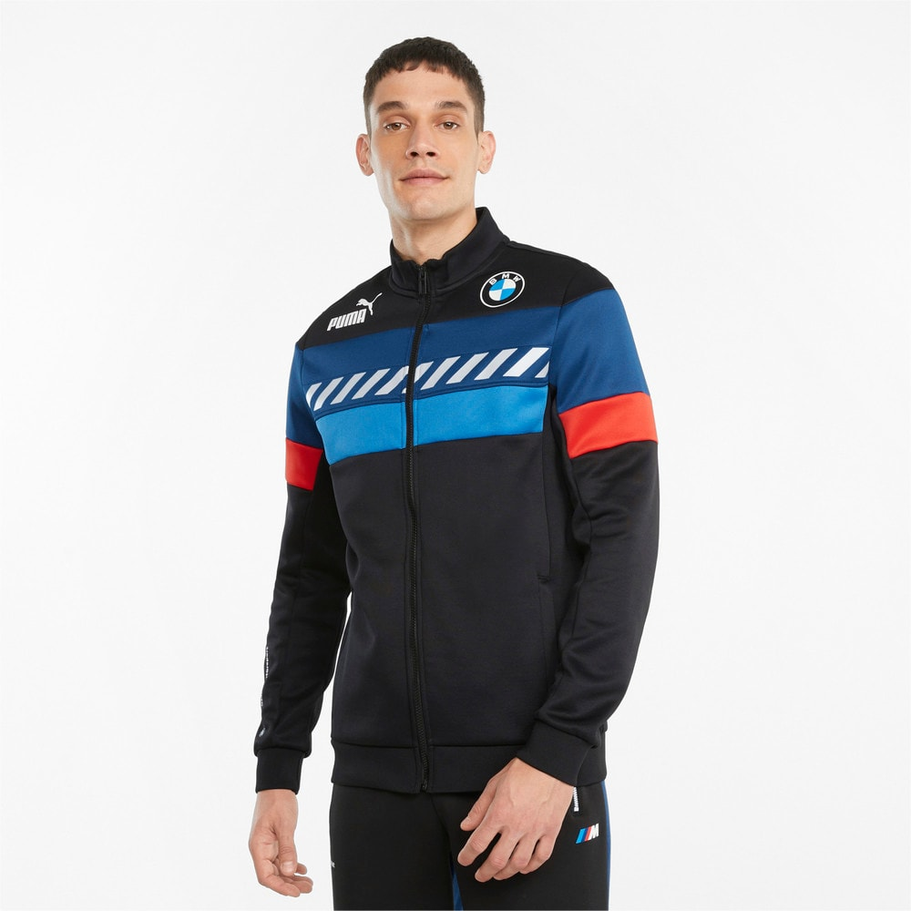 Изображение Puma Олимпийка BMW M Motorsport SDS Men's Track Jacket #1: Puma Black