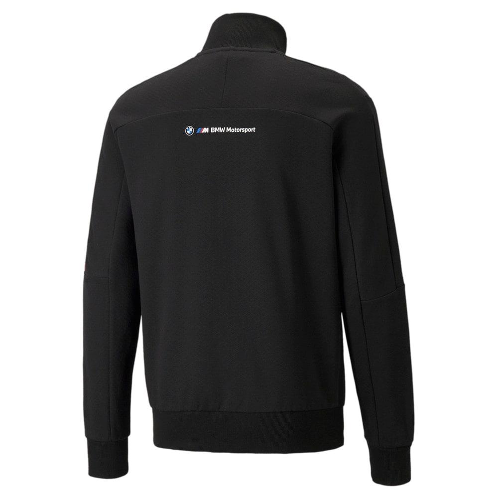 Изображение Puma Олимпийка BMW M Motorsport T7 Full-Zip Men's Jacket #2: Puma Black