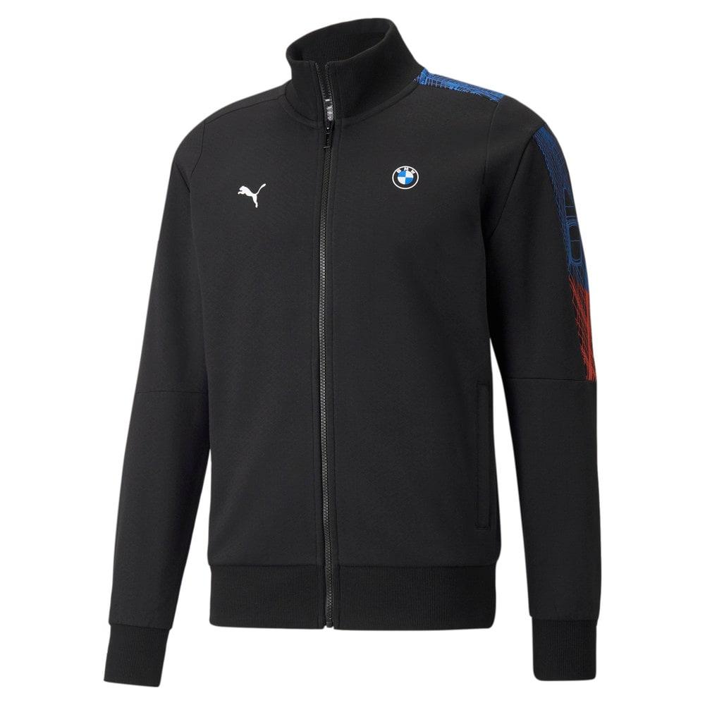 Изображение Puma Олимпийка BMW M Motorsport T7 Full-Zip Men's Jacket #1: Puma Black