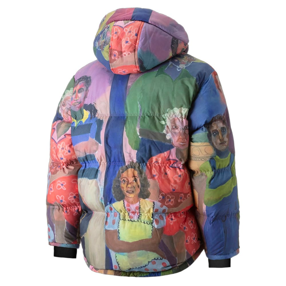 Зображення Puma Куртка PUMA x KidSuper Printed Down Men's Puffer Jacket #2: Puma White-AOP