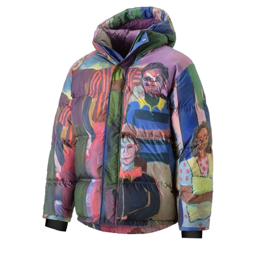 Зображення Puma Куртка PUMA x KidSuper Printed Down Men's Puffer Jacket #1: Puma White-AOP