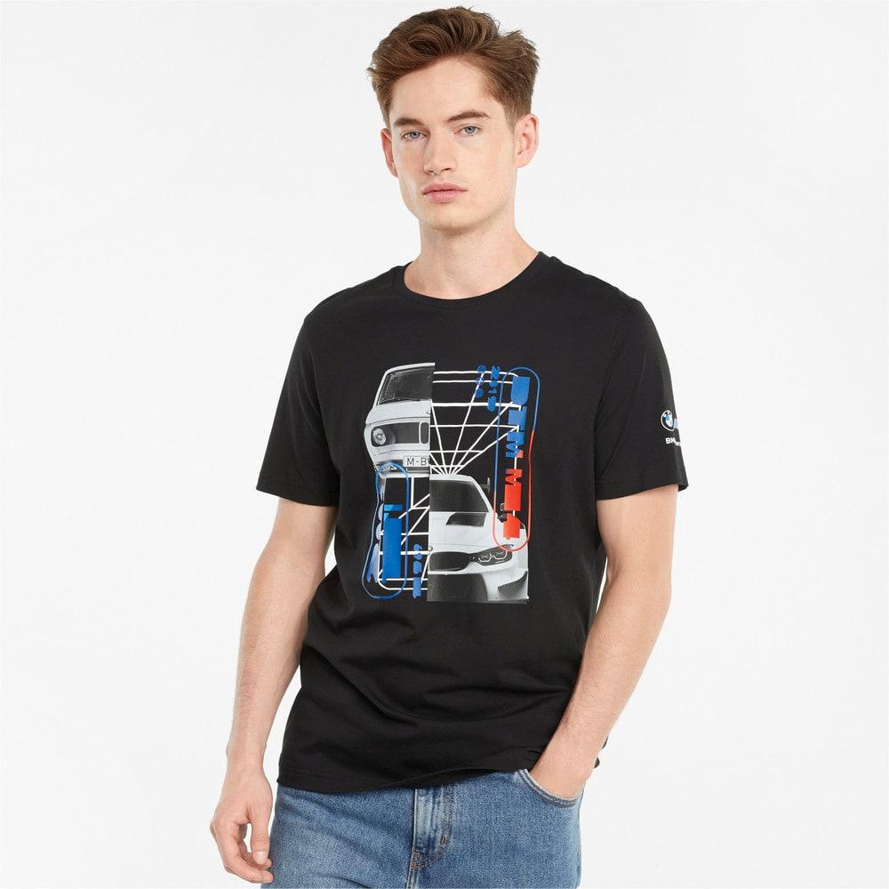 Imagen PUMA Polera con estampado gráfico para hombre BMW M Motorsport Car #1