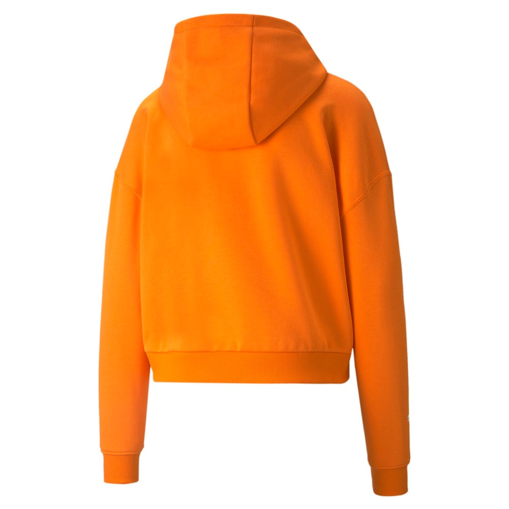 Зображення Puma Толстовка BMW M Motorsport Essentials Logo Women's Hoodie #2: Vibrant Orange