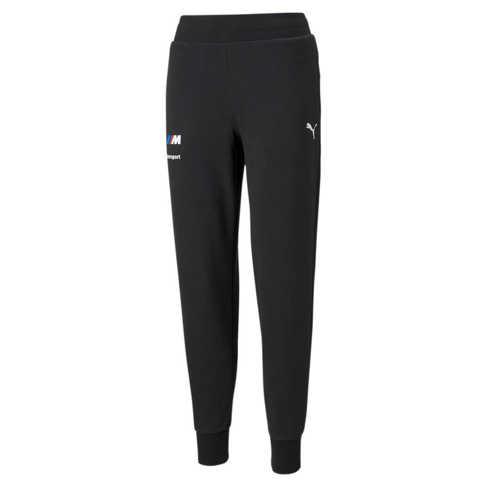 Изображение Puma Штаны BMW M Motorsport Essentials Women's Sweatpants #1: Puma Black