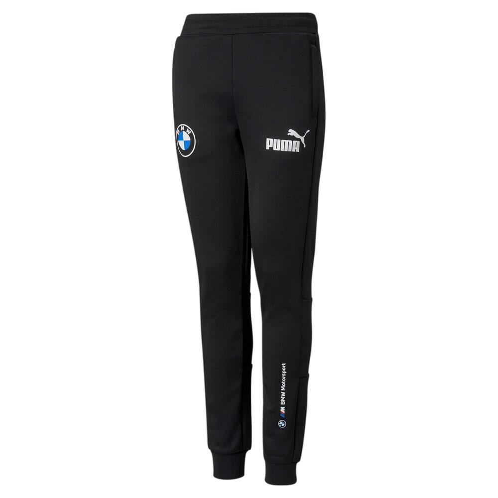 Изображение Puma Детские штаны BMW M Motorsport SDS Youth Track Pants #1