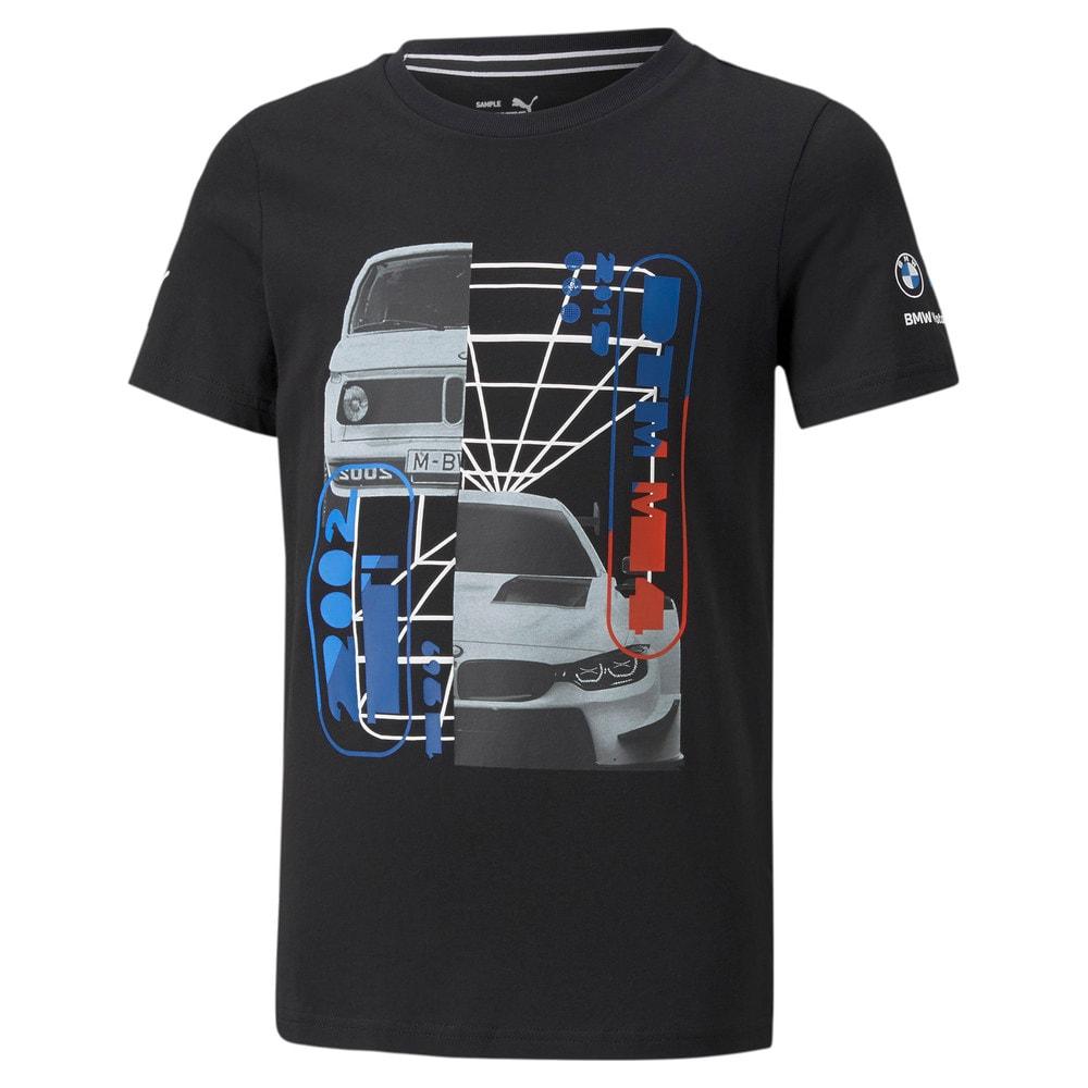 Görüntü Puma BMW M Motorsport Araba Grafikli T-shirt JR #1