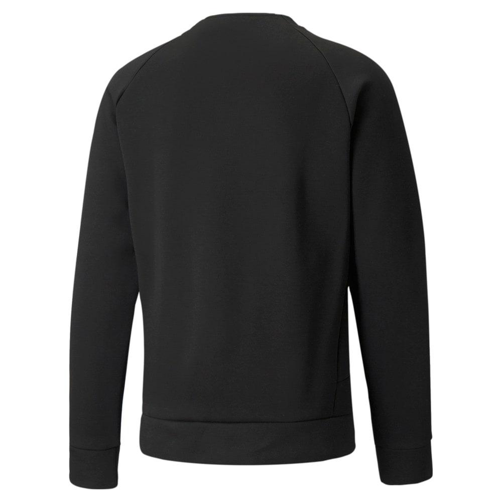 Image Puma Classics Tech Double Knit Crew Neck Men's Sweatshirt #2