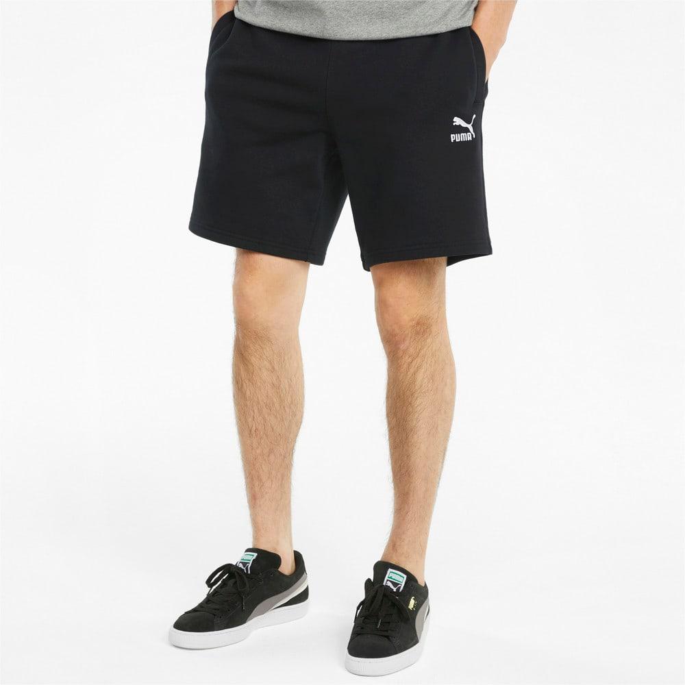 Image Puma Classics Logo French Terry Men's Shorts #1
