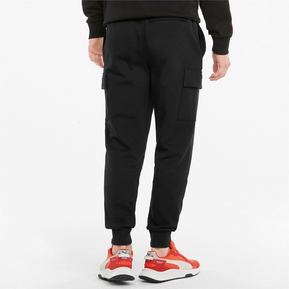 Imagen PUMA Pantalones de felpa francesa y estilo cargo para hombre CLSX #2