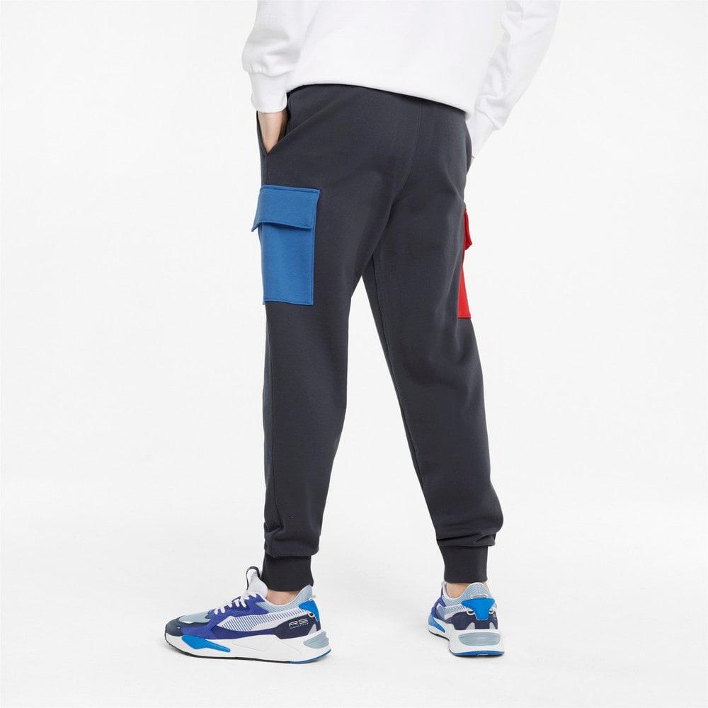 Изображение Puma Штаны CLSX French Terry Men's Cargo Pants #2: Ebony