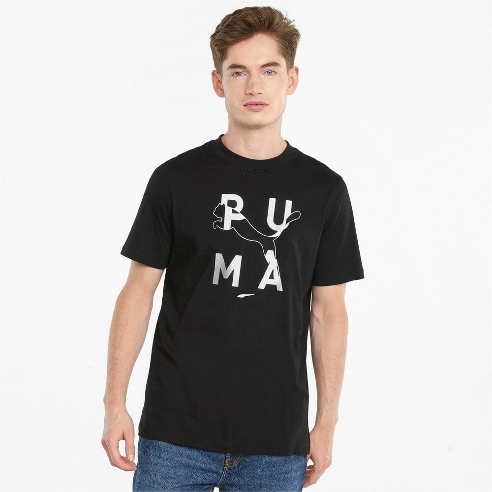 Зображення Puma Футболка JTS Logo Men's Tee #1: Puma Black