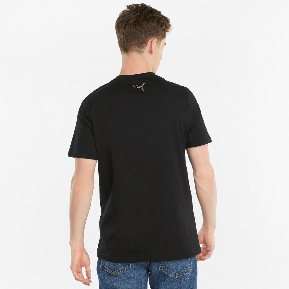 Зображення Puma Футболка JTS Logo Men's Tee #2: Puma Black
