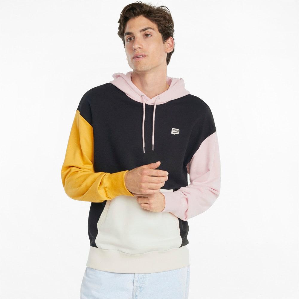 Görüntü Puma DOWNTOWN French Terry Erkek Kapüşonlu Sweatshirt #1