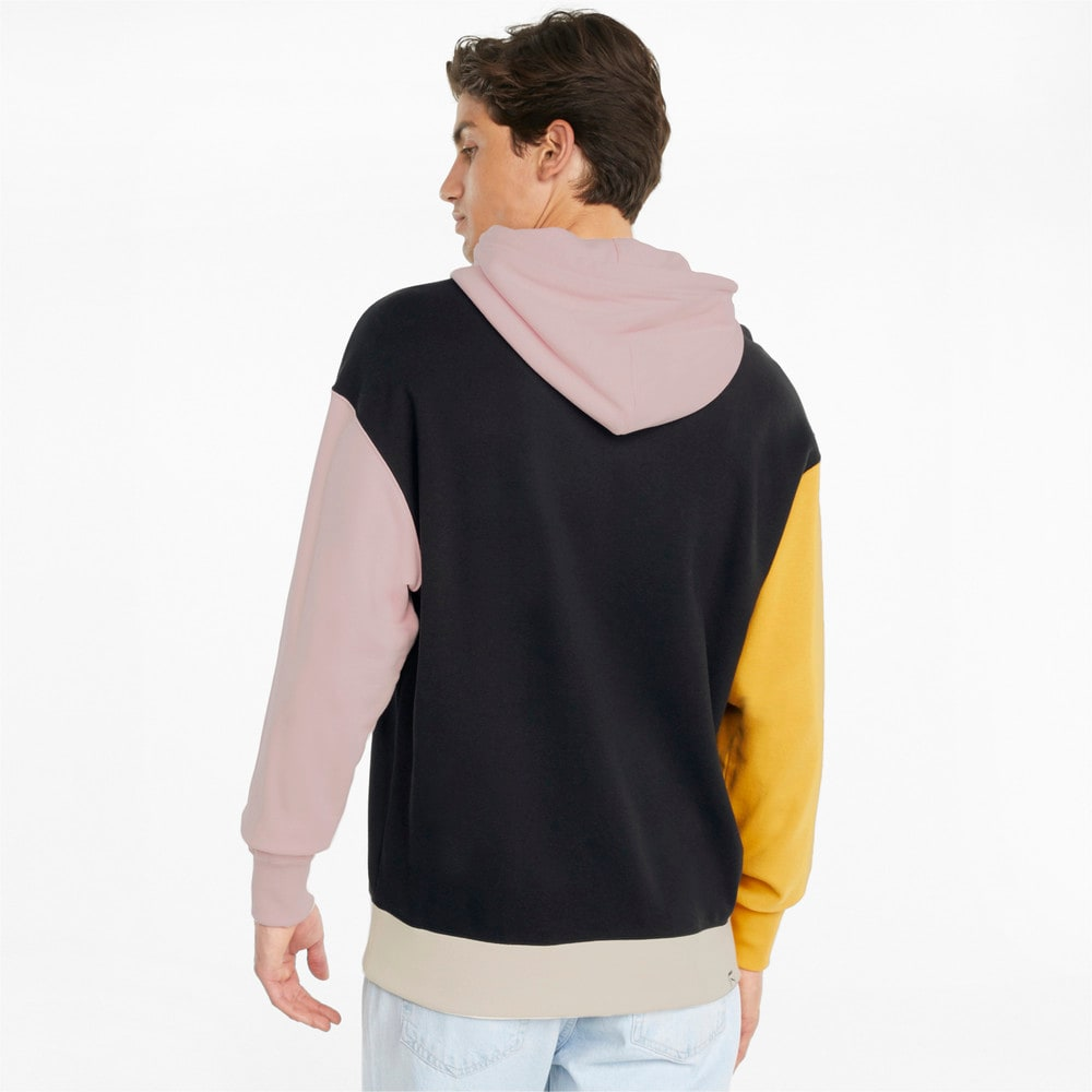Imagen PUMA Polerón de felpa francesa con capucha para hombre Downtown #2