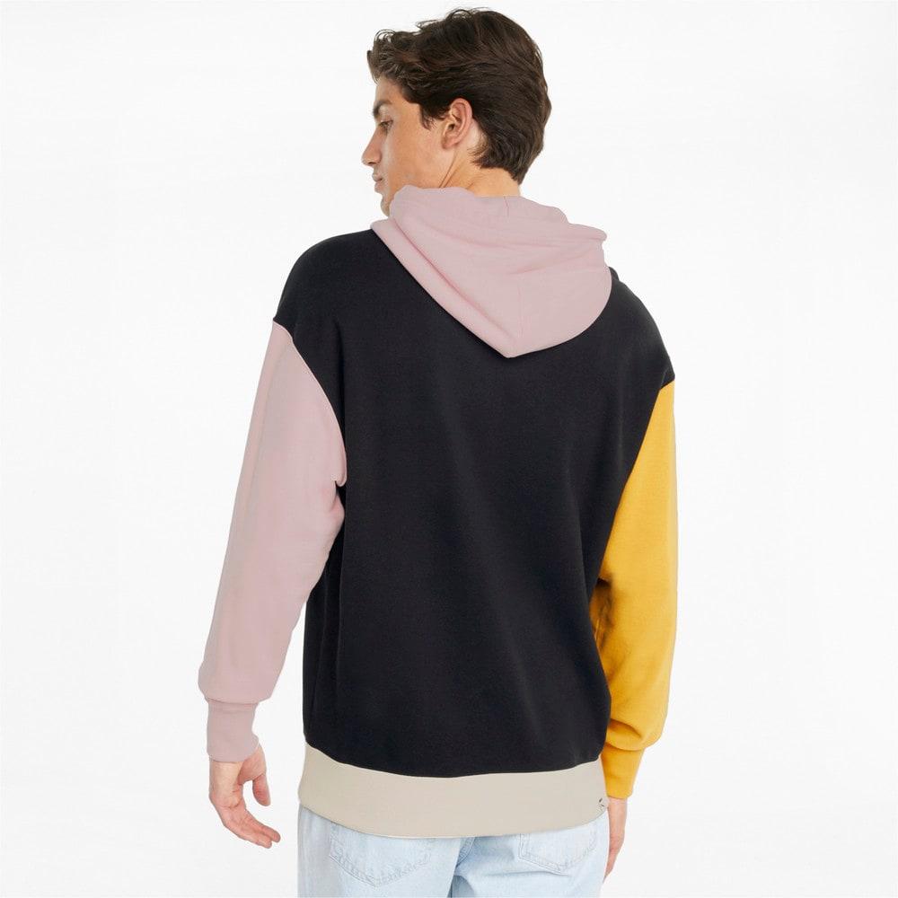 Görüntü Puma DOWNTOWN French Terry Erkek Kapüşonlu Sweatshirt #2