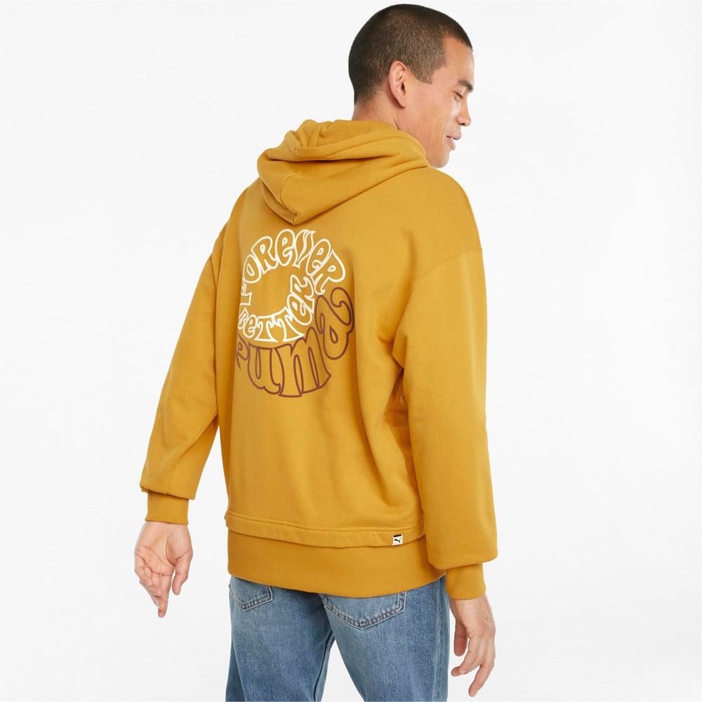 Изображение Puma Толстовка Downtown Graphic French Terry Men's Hoodie #2: Mineral Yellow
