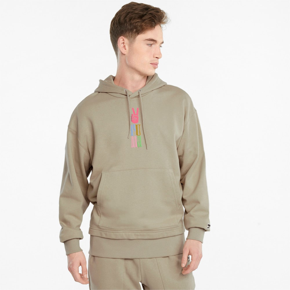 Image Puma Downtown Graphic French Terry Men's Hoodie #1