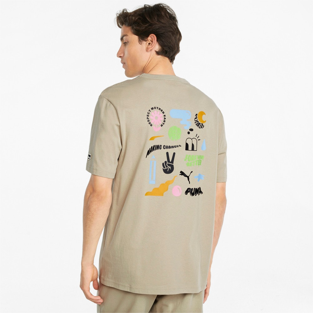 Image PUMA Camiseta Downtown Graphic Masculina #2