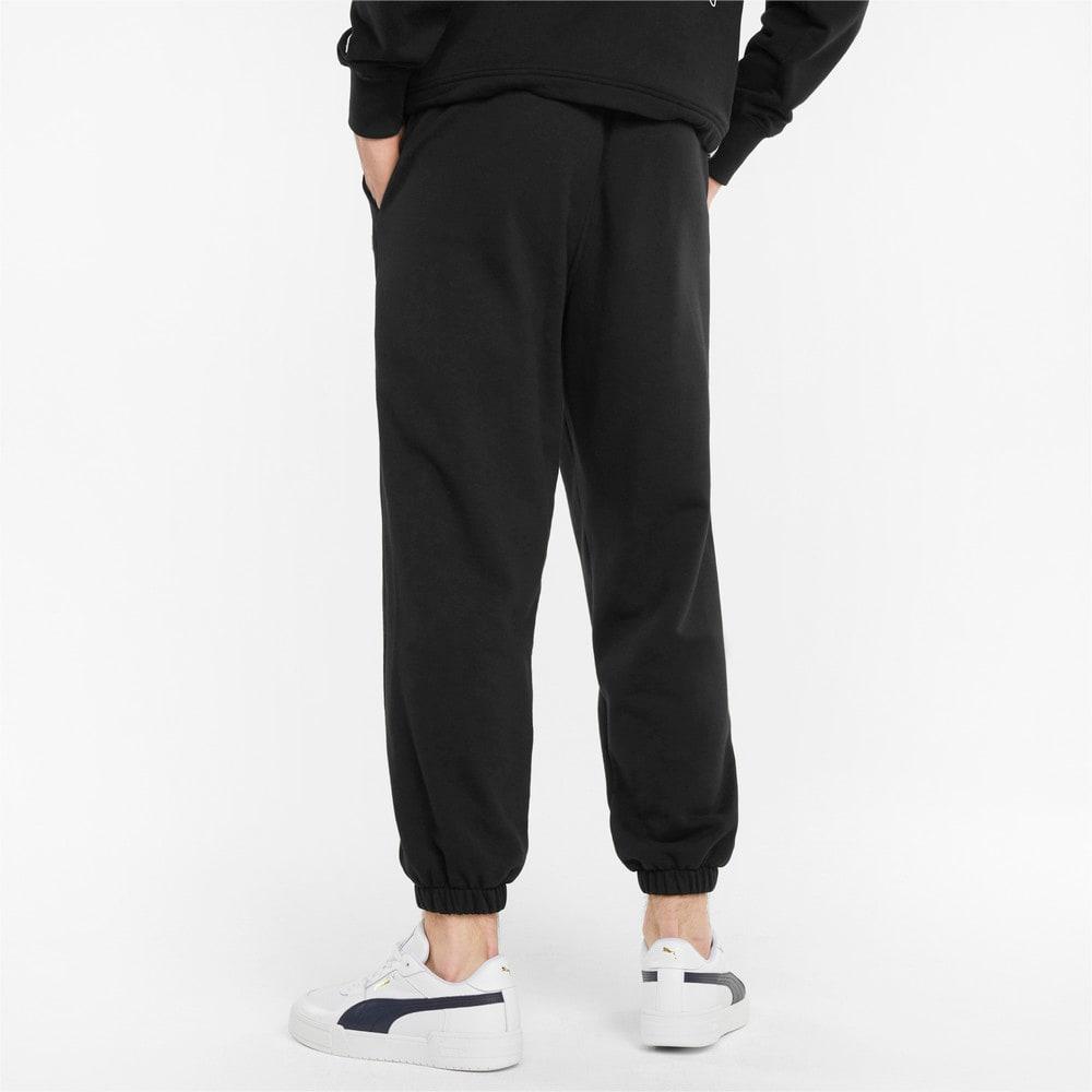 Зображення Puma Штани Downtown French Terry Men's Sweatpants #2: Puma Black