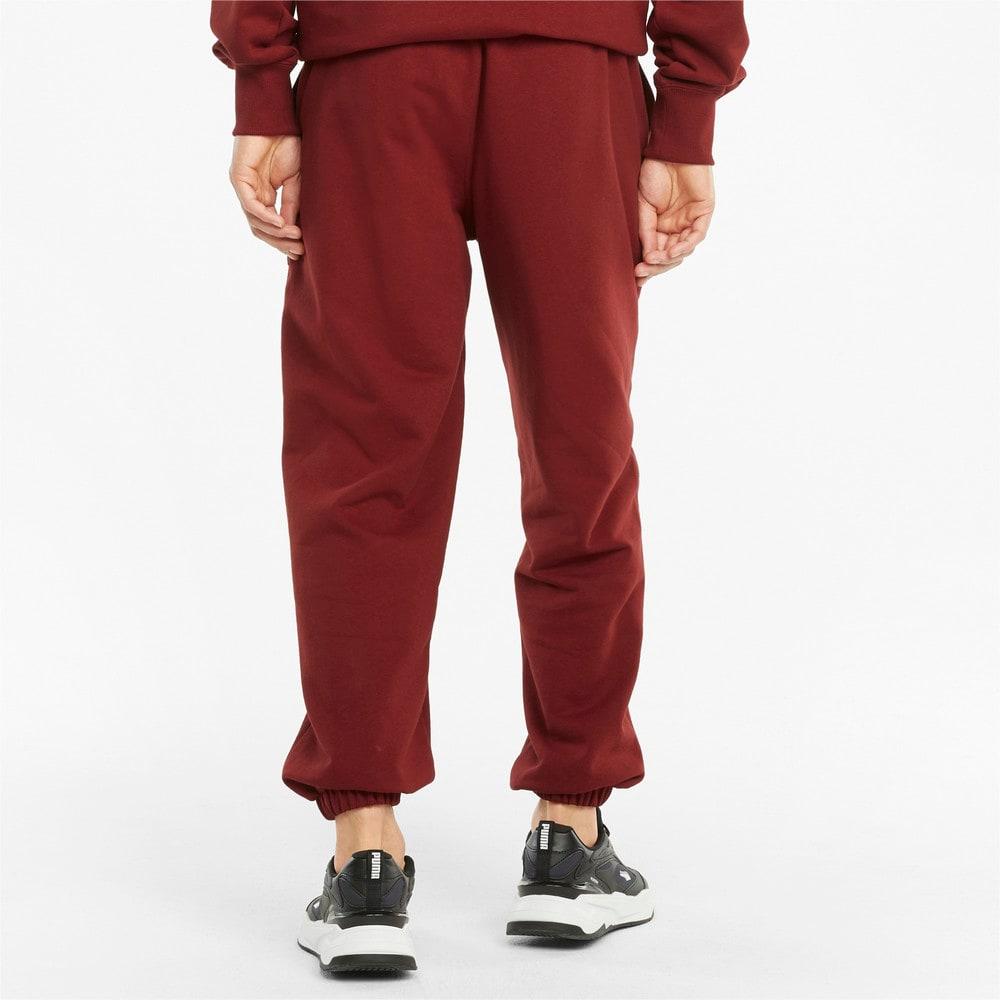 Изображение Puma Штаны Downtown French Terry Men's Sweatpants #2: Intense Red