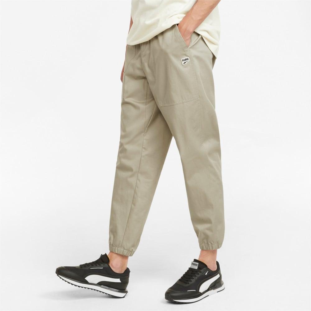 Зображення Puma Штани Downtown Twill Men's Pants #1: Spray Green