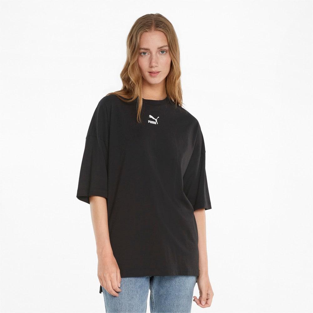 Görüntü Puma CLASSICS Geniş Kesim Kadın T-shirt #1
