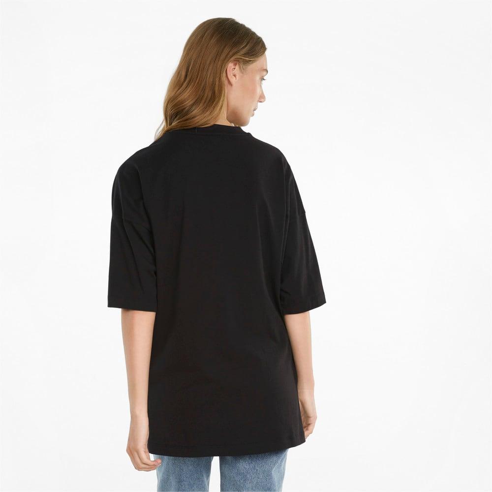 Görüntü Puma CLASSICS Geniş Kesim Kadın T-shirt #2