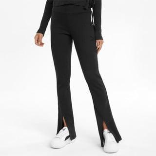 Зображення Puma Штани Classics Ribbed Women's Slit Pants