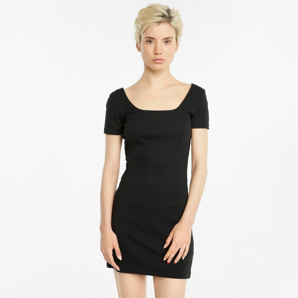 Изображение Puma Платье Classics Ribbed Women's Dress #1