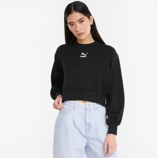 Зображення Puma Толстовка Classics Puff Sleeve Crew Neck Women's Sweatshirt