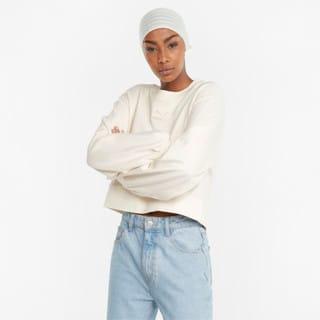 Изображение Puma Толстовка Classics Puff Sleeve Crew Neck Women's Sweatshirt