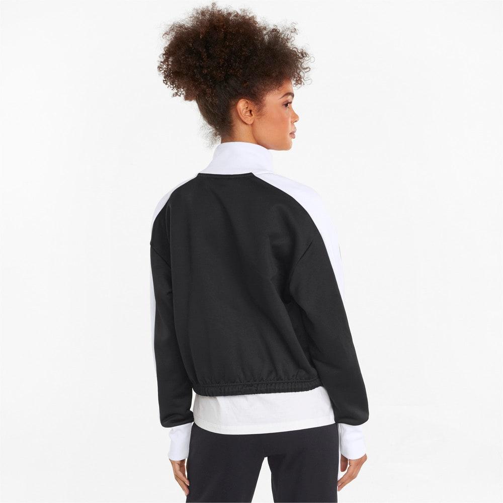 Изображение Puma Олимпийка Iconic T7 Cropped PT Women's Jacket #2: Puma Black