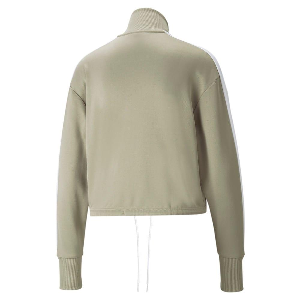 Зображення Puma Олімпійка Iconic T7 Cropped PT Women's Jacket #2: Spray Green