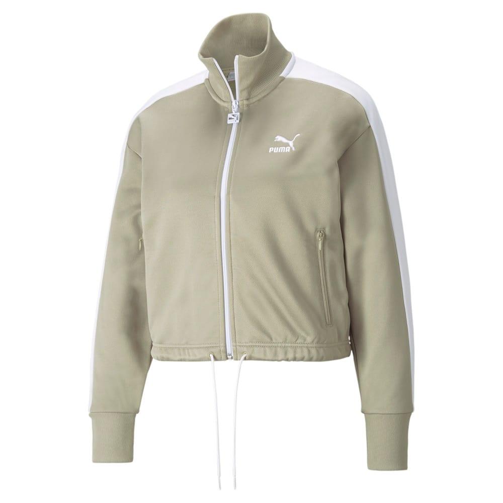 Изображение Puma Олимпийка Iconic T7 Cropped PT Women's Jacket #1