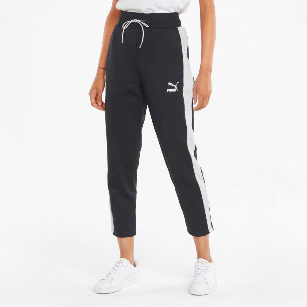 Изображение Puma Штаны Iconic T7 Cigarette Women's Pants #1: Puma Black