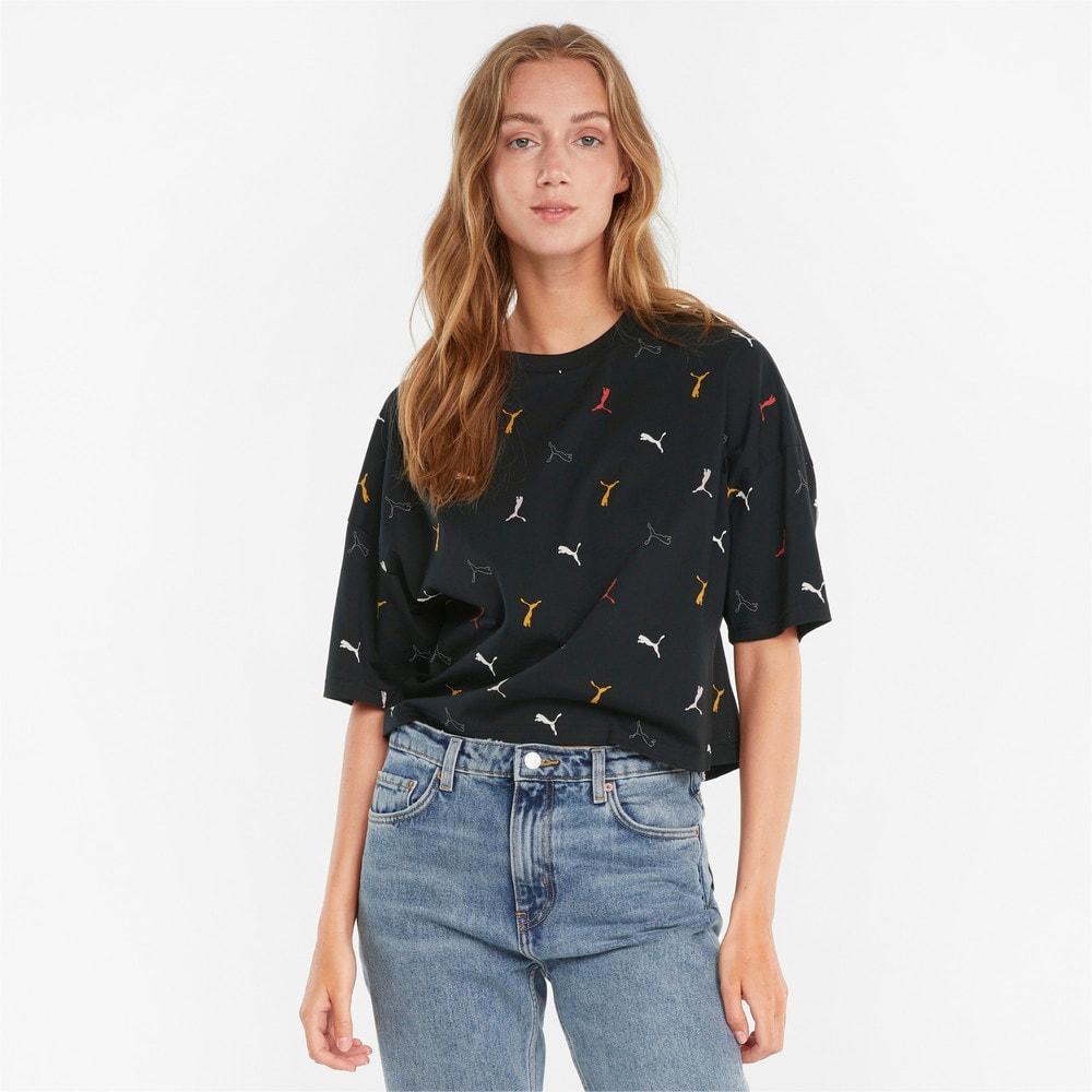 Image PUMA Camiseta Classics Printed Graphics Feminina #1