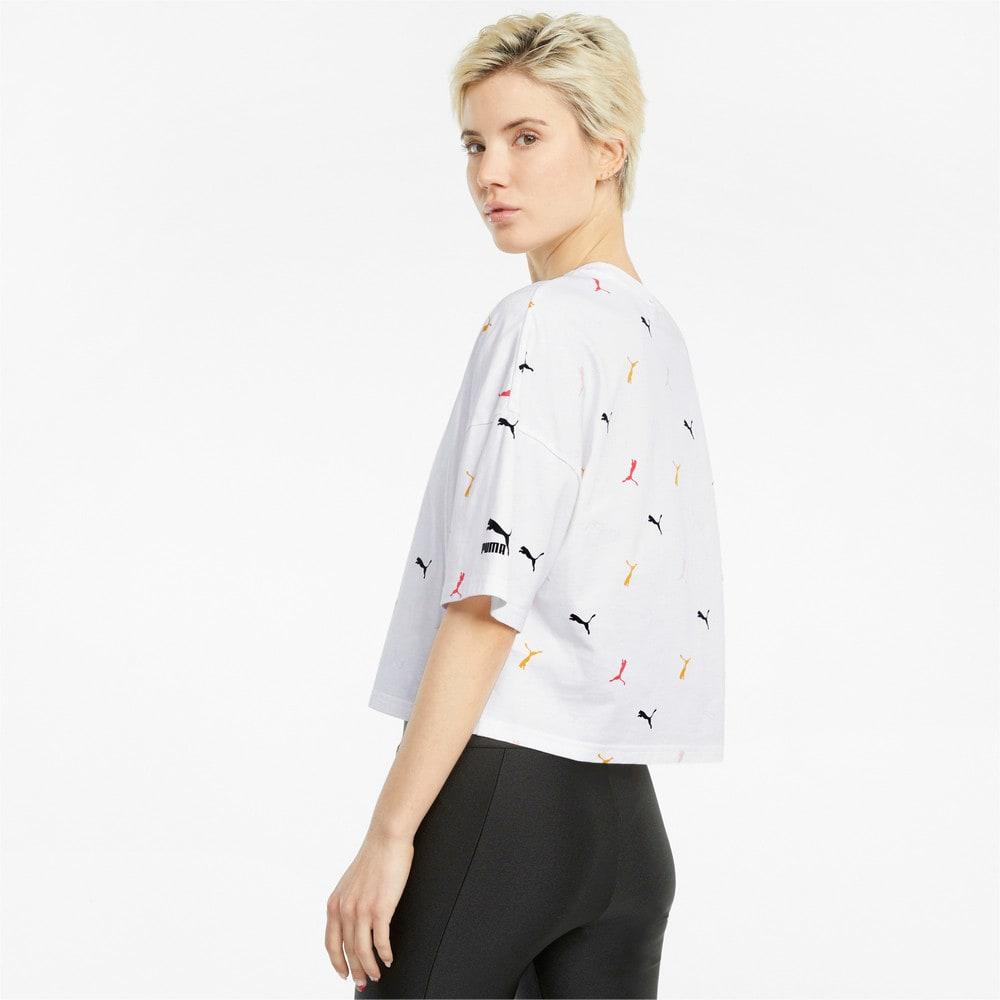 Image PUMA Camiseta Classics Printed Graphics Feminina #2