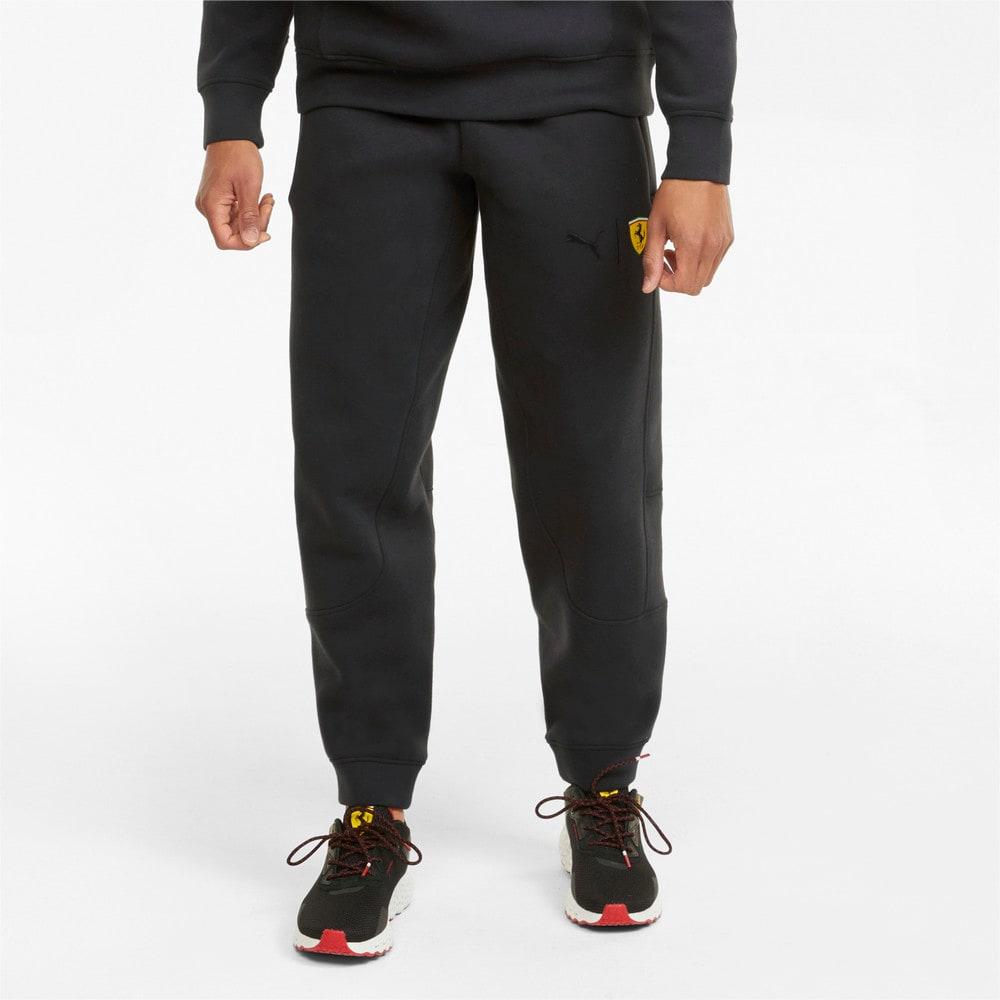 Изображение Puma Штаны Scuderia Ferrari Race Men's Sweatpants #1: Puma Black