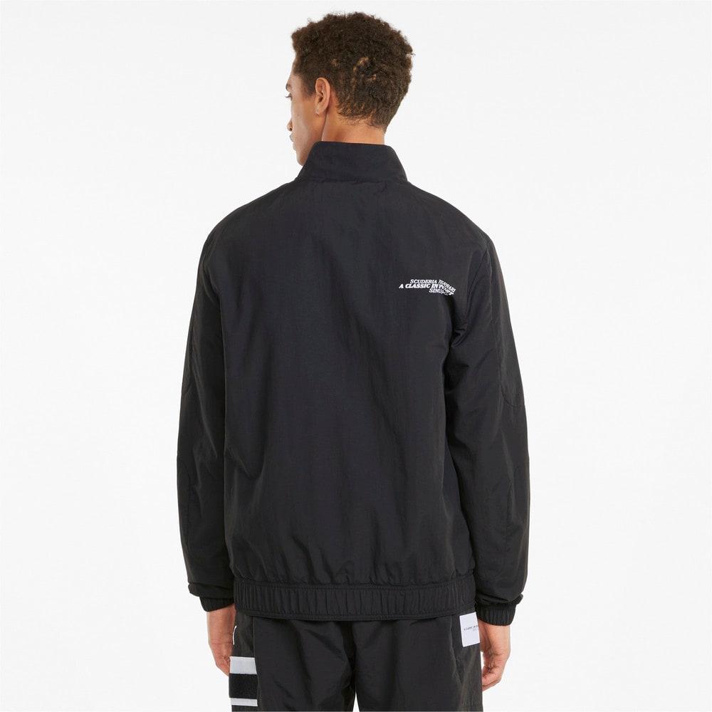 Изображение Puma Куртка Scuderia Ferrari Race Statement Woven Men's Jacket #2: Puma Black