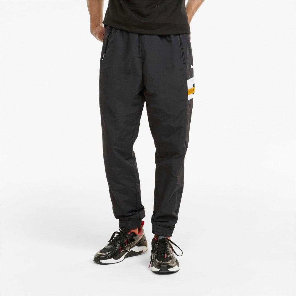 Изображение Puma Штаны Scuderia Ferrari Race Statement Woven Men's Pants #1: Puma Black